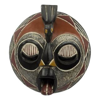 Hoot at Hunger Malian Wood Mask (West Africa)