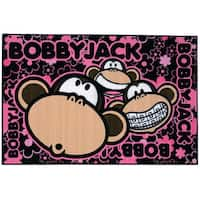 Fun Rugs Home Indoor Bobby Faces Rug - multi