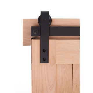 Ironwood Loft-style Barn Door Hardware System