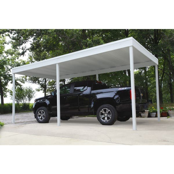 Galvanized Steel Attached Patio Cover