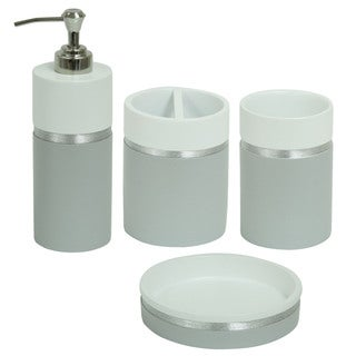 Jessica Simpson Naomi Bathroom Accessory Collection - Multiple Options Available (4 options available)