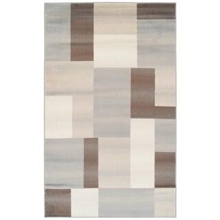 Superior Designer Clifton Multicolored Area Rug (4' x 6')