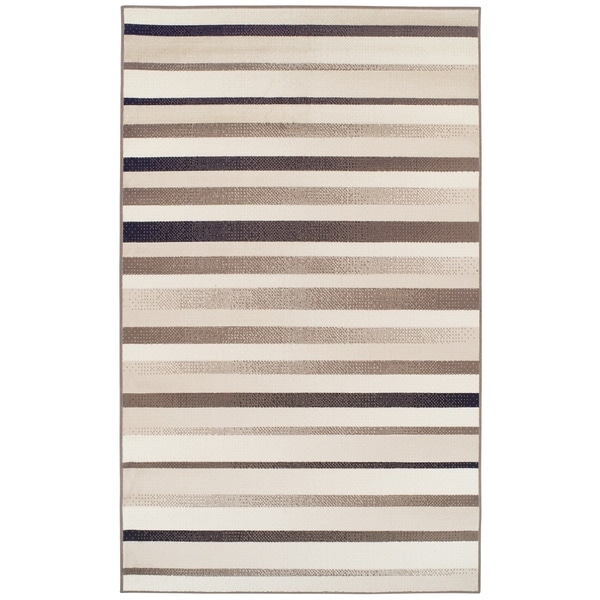 Superior Modern Corona Brown Area Rug