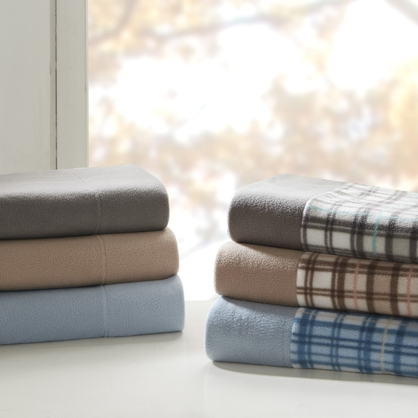 True North by Sleep Philosophy Cozy Micro Fleece Sheet Set 6-Color Option