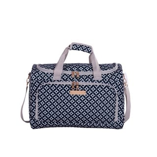 Jenni Chan Aria Stars Polyester 17-inch Carry-on Duffel Bag