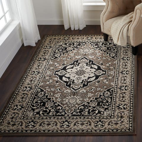 Superior Glendale Oriental Traditional Medallion Area Rug Collection