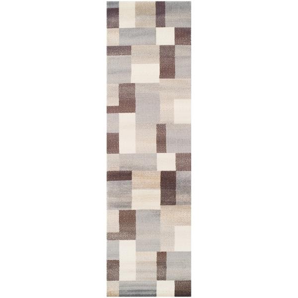 Superior Designer Clifton Multicolored Runner Rug (2'7 x 8')