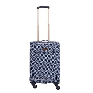 Jenni Chan Arias Stars 20-inch Carry-on Upright Spinner Suitcase
