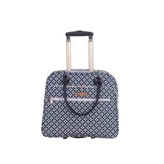Jenni Chan Aria Stars 18-inch Carry-on Rolling Tote