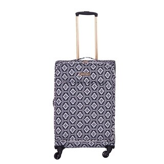 Jenni Chan Aria Snow Flake 24-inch Upright Spinner Suitcase (2 options available)