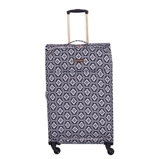 Jenni Chan Aria Snow Flake 28-inch Upright Spinner Suitcase