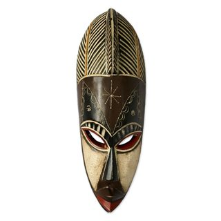 Fishermen's Deity Cameroon Wood Mask (West Africa)