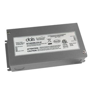 Dals Grey Aluminum 48-watt Dimmable LED Driver