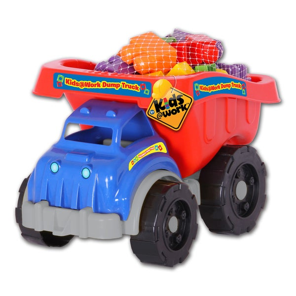 Amloid Kids at Work 25 Piece Dump Truck of Blocks