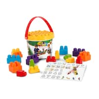 Crayola Kids at Work Learn and Play 25 Pc Blocks Bucket