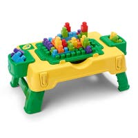 Crayola Kids at Work Build and Draw Activity Table