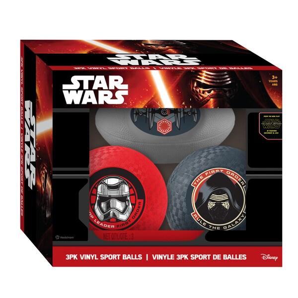 Hedstrom Star Wars Episode VII 3pk Vinyl Sport Balls