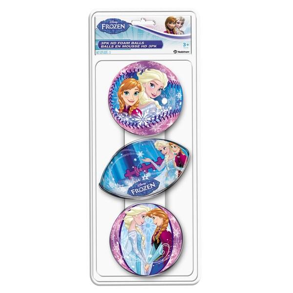 Hedstrom 3 Pack Frozen Foam Ball Set