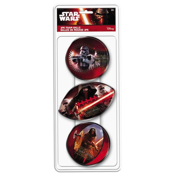 Hedstrom 3 Pack Star Wars Foam Ball Set