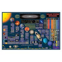 Wonders of the Solar System 38 Inch Space Chart