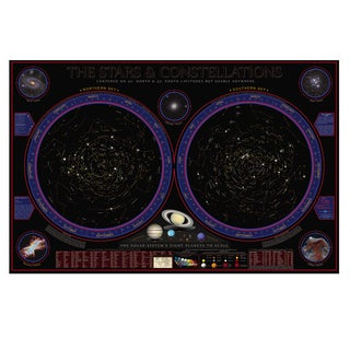 Wonders of the Constellations 38 Inch Space Chart