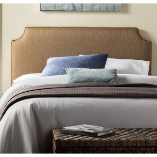 Humble + Haute Raleigh King Size Golden Brown Upholstered Headboard