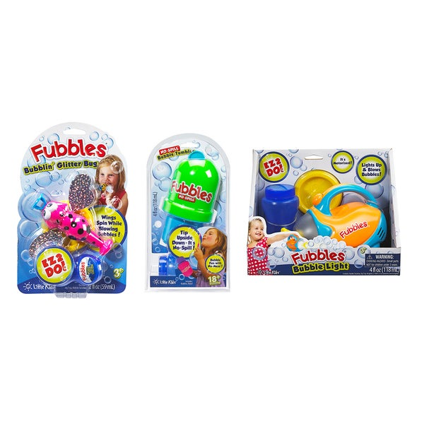 Fubbles EZ-2-Do 3 Pc Bubble Set II