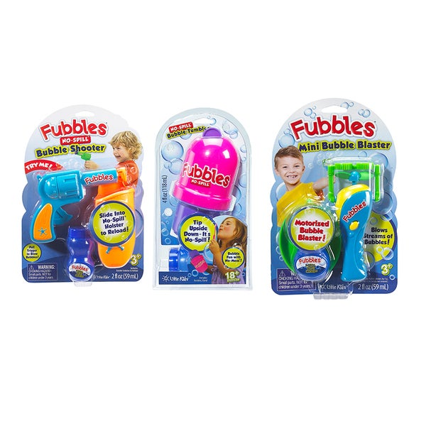 Fubbles EZ-2-Do 3 Pc Bubble Set III