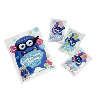 Candylicious Bubble Machine Refill 3 Pack