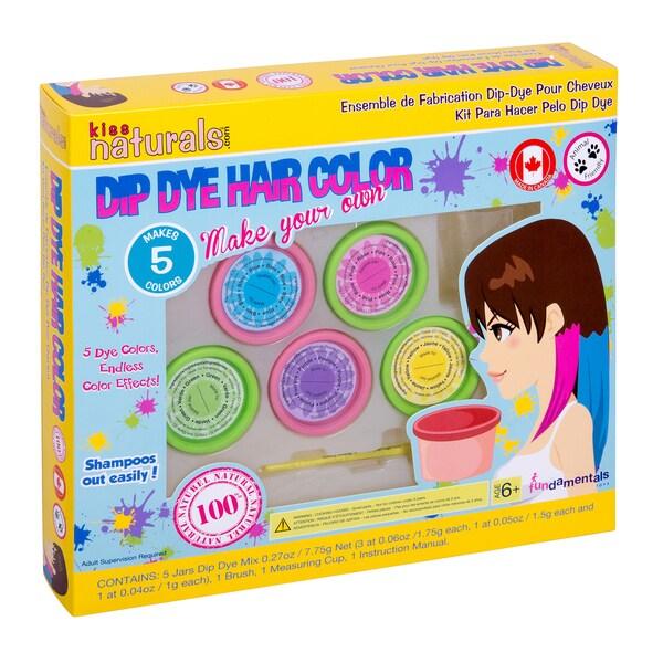 Fundamentals Toys Kiss Naturals DIY Hair Dip Dye Kit