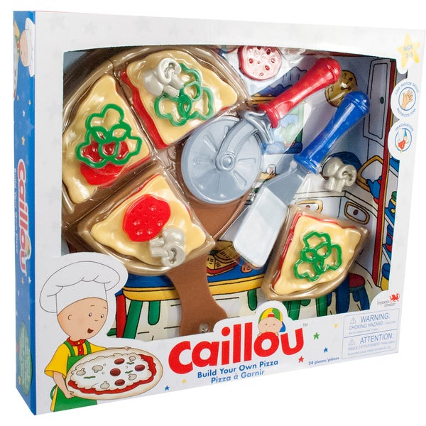 Caillou Build Your Own Pizza