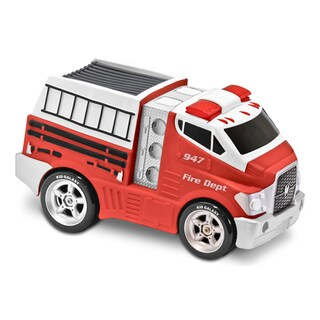 Soft Safe Squeezable Jumbo Light and Sound Fire Truck