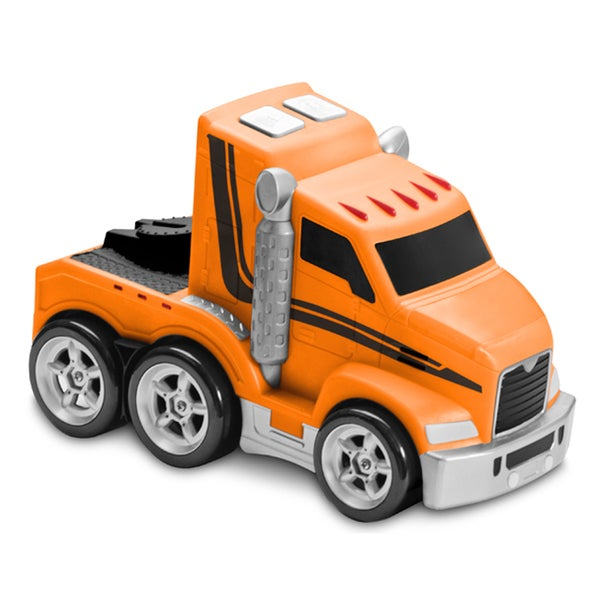 Soft Safe Squeezable Jumbo Light and Sound Big Rig