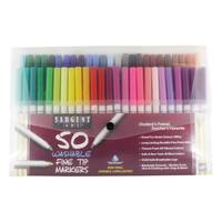Sargent Art 50 Count Fine Tip Washable Markers