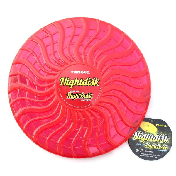 Tangle Red NightDisk