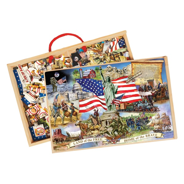 American Presidents and Land of the Free Puzzles
