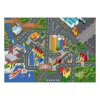 40 Inch Play Carpet Playmat Vehicle Playset