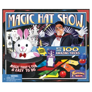 Fantasma Magic 100 Tricks Retro Magic Hat Show