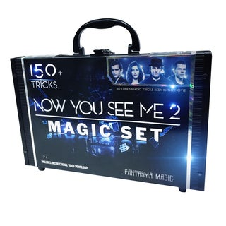 Fantasma Magic 150 Tricks Now You See Me 2 Magic Case