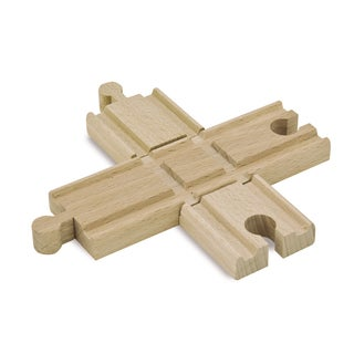 Eichhorn 2 Piece Wooden Train Track Crossing