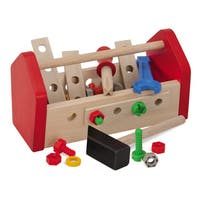 Heros 30 Piece Wooden Tool Box Set