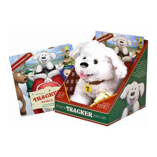 Imaginary Kidz Tracker Santa's Puppy Set