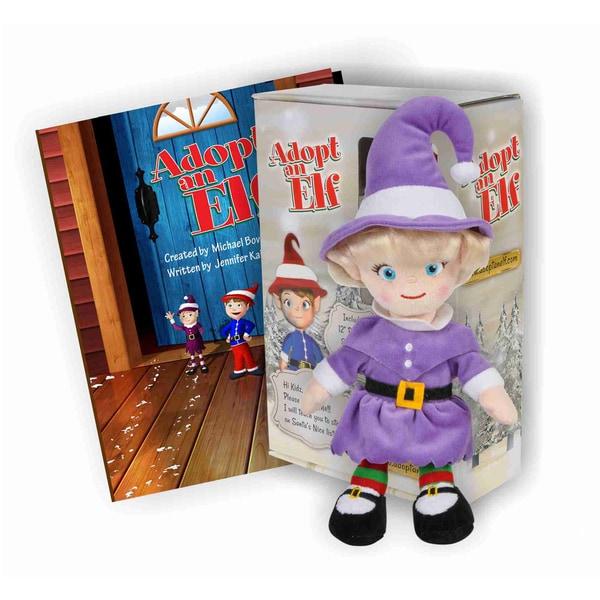 Imaginary Kidz Adopt an Elf Girl Gift Set