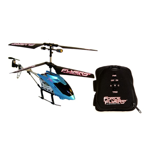 Falcon 3 Channel Motion Control Blue Helicopter