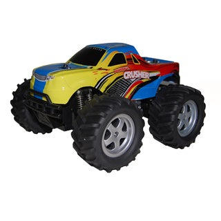 Black Crusher Monster Truck with Glove Control