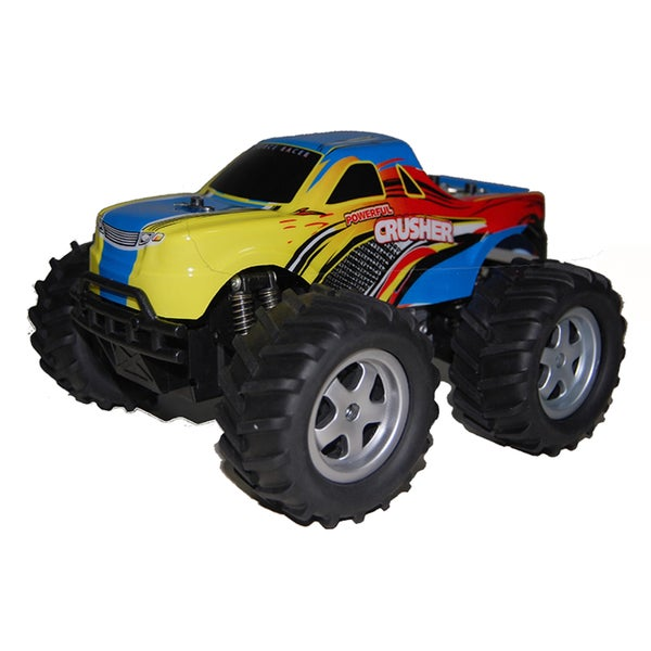 Blue Crusher Monster Truck with Glove Control