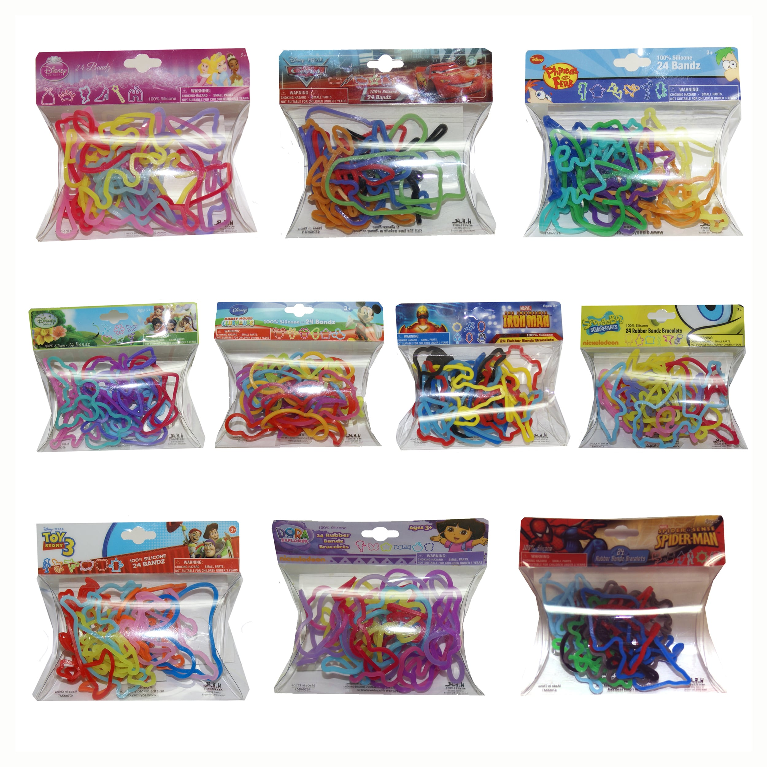 Disney H.E.R Accessories 200 Piece Character Bandz Bracel...