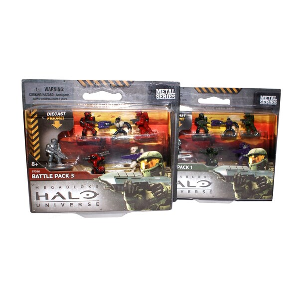 Halo Troop Micro Action Figures Fireteams I and III