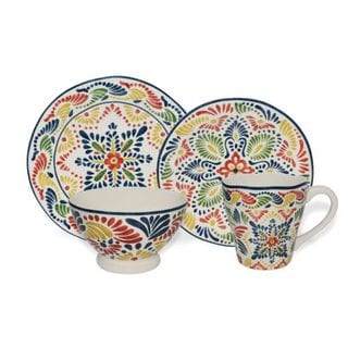 222 Fifth Alicante 16-piece Dinnerware Set (Service for 4)