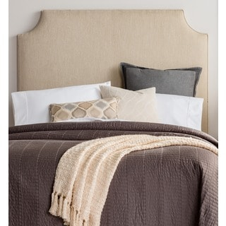 Humble + Haute Raleigh Tall Full Size Light Sage Green Upholstered Headboard